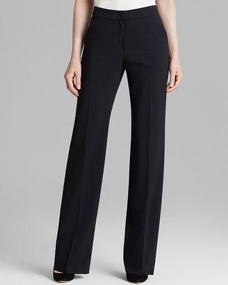 Armani Collezioni Trousers - Wide Leg Wool $595 thestylecure.com