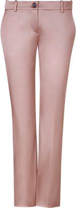 D&G Dolce & Gabbana Blush Shiny Low Rise Pants