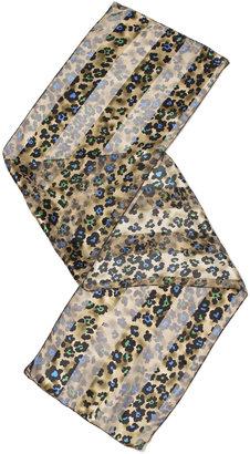 Spiegel Grace Gold Leopard Print Scarf
