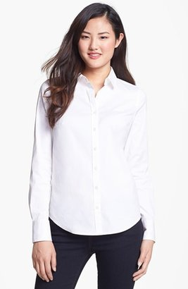 Halogen Stretch Poplin Shirt (Regular & Petite)