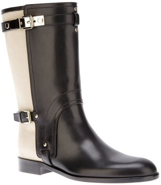 Christian Dior 'Voltige' buckle boot