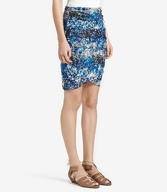 Reiss 1971 Bee PRINTED RUCHED SKIRT