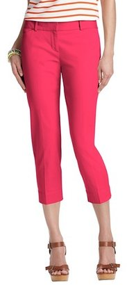LOFT Zoe Casual Cropped Pants in Stretch Cotton