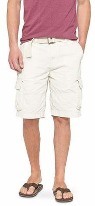 Mossimo Supply Co. Men's Belted Cargo Shorts- Mossimo Supply Co. $22.99 thestylecure.com