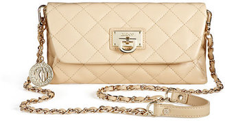 DKNY Quilted Nappa Leather Clutch