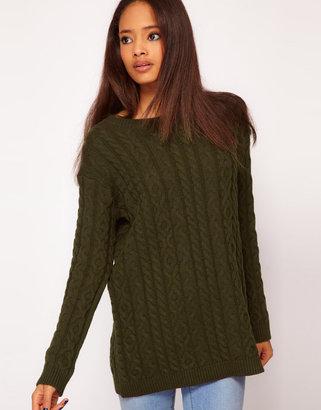 Asos Aran Boyfriend Sweater