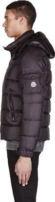 Moncler Black Quilted Puffer Himalaya Jacket