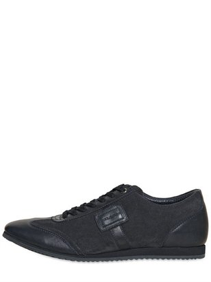 Dolce & Gabbana Italia Leather & Suede Sneakers