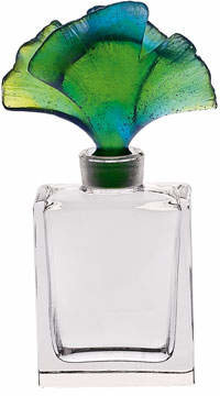 Daum Ginkgo Perfume Bottle