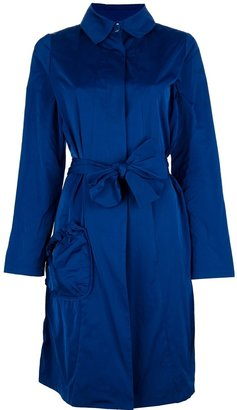 Anne Valerie Hash Avhash By 'Djam' coat blue