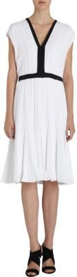 Narciso Rodriguez Pleated Dress