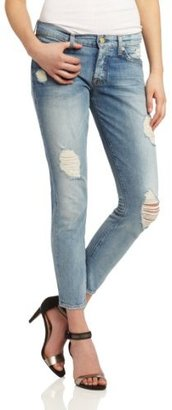 7 For All Mankind Women's Josefina Jean in Light Destroyed