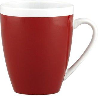 Crate & Barrel Red Mug