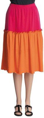 Joan Vass Short Ruffle Skirt (For Women)