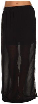 Brigitte Bailey Cairo Skirt (Black) - Apparel