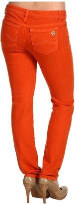 MICHAEL Michael Kors Petite Jewels Denim Skinny Jean in Persimmon (Persimmon) - Apparel