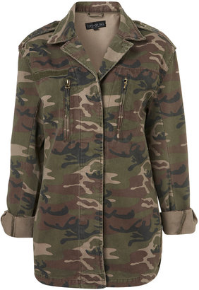 Topshop Tall Camouflage Army Jacket