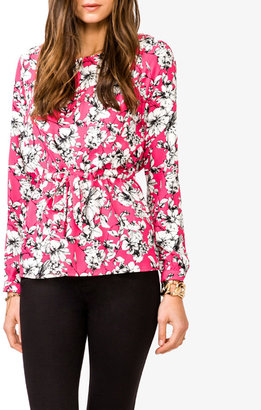 Forever 21 Essential Floral Print Flowy Top
