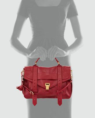 Proenza Schouler PS1 Medium Satchel Bag, Red