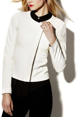 Vince Camuto Cropped Side Zip Jacket