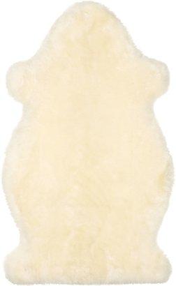 John Lewis & Partners Sheepskin Baby Comforter