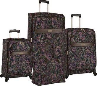 Anne Klein Women's Portland 4 Piece Set - Pink Multi Paisley Luggage Sets