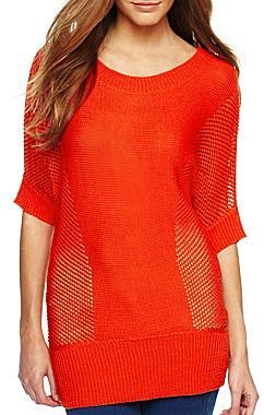 Allen B. Crewneck Tunic Sweater