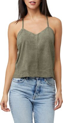 As By Df Leather Nights Suede Cami