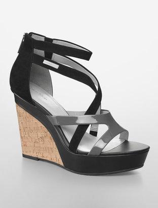 Calvin Klein Eilna Strappy Platform Sandal
