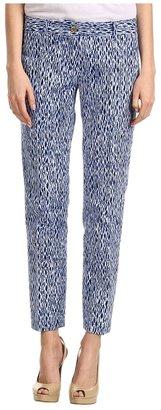 MICHAEL Michael Kors Wave Shibori Skinny Pant (Vintage Cadet) - Apparel