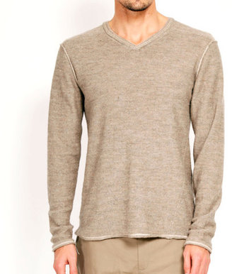 Rogan Orlop Double V Sweater Gravel