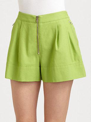 3.1 Phillip Lim Linen-Blend Bloomer Shorts