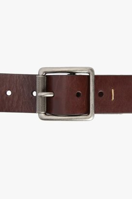 7 For All Mankind Stringer Belt In Brown