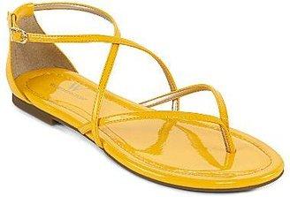 JCPenney Worthington® Sara Strappy Flat Sandals