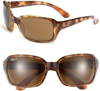 Ray-Ban 'Big Glamour' 60mm Polarized Sunglasses