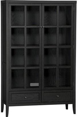"""Crate & Barrel Westmore 41.5"""" Two-Door Cabinet"""
