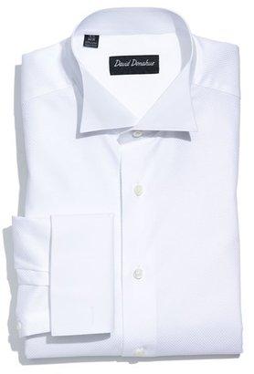 David Donahue Regular Fit Tuxedo Shirt