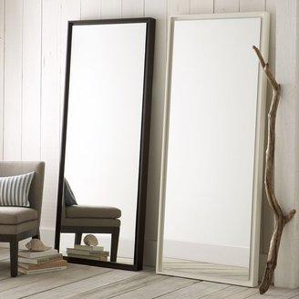 west elm Floating Wood Floor Mirror