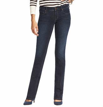LOFT Supreme Sexy Boot Jeans in Debate Dark Blue