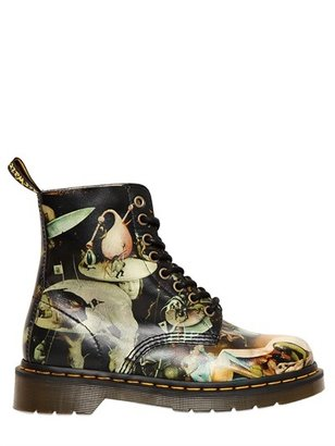 Dr. Martens 30mm Hieronymus Printed Leather Boots