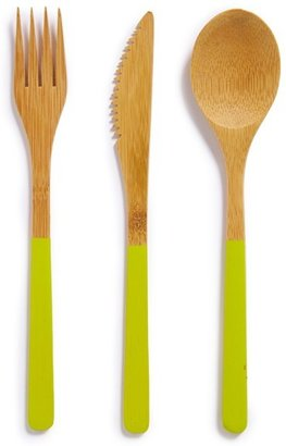 Core Home 3-Piece Organic Bamboo Cutlery Set