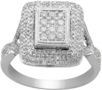 FINE JEWELRY CT. T.W. Diamond Split-Shank Ring $400 thestylecure.com