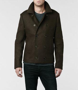 AllSaints Garrison Pea Coat