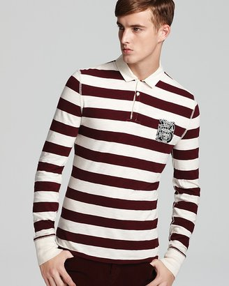 Burberry Bedworth Striped Polo