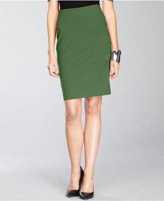 INC International Concepts Skirt, High-Waist Ponte-Knit