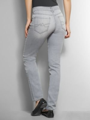 New York & Co. Skinny Leg Jean with Embellished Pockets - Grey