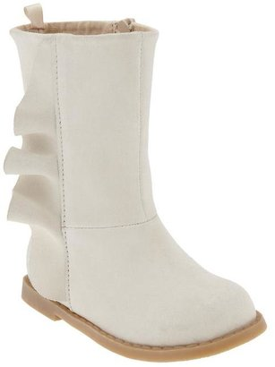 Gap Suede ruffle boots