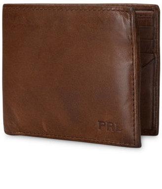 Polo Ralph Lauren Leather Window Billfold Wallet