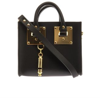 Sophie Hulme Structured leather mini box bag