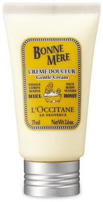 L'Occitane Bonne Mere Gentle Cream for Face, Body & Hands - Honey